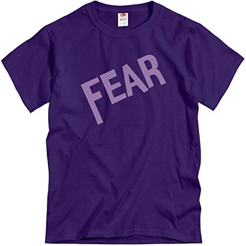 Fear Adult Costume: Unisex T-Shirt Purple]()