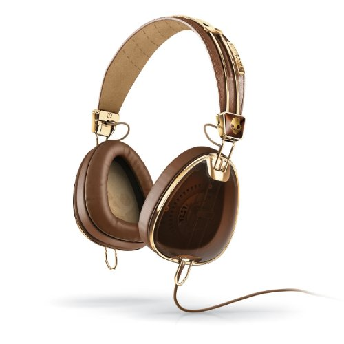 Skullcandy Aviator Headphones - Black/Gold