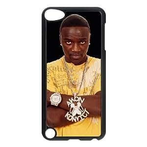 iPod Touch 5 Case Black Akon wmuy