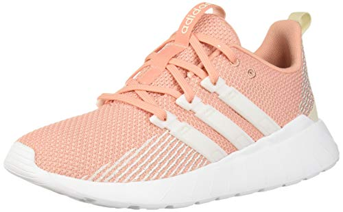 adidas Women's Questar Flow, dust Pink raw White, 9.5 M US