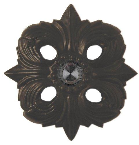 Waterwood Solid Brass Avalon Doorbell - Black
