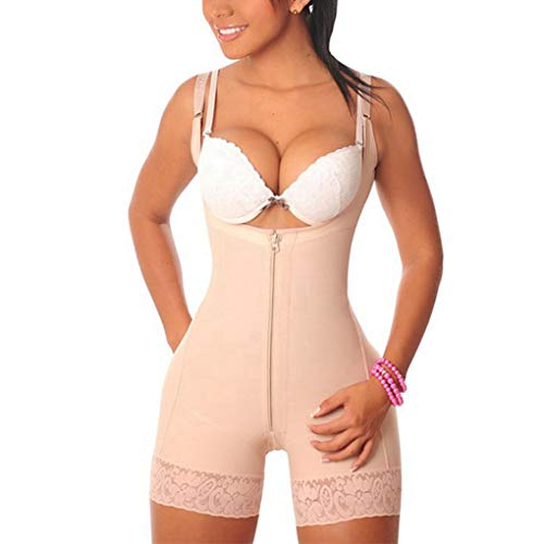 3ed02c754 Full Body Shaper with Zipper for Women Fajas Colombianas Reductoras