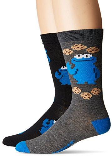 High Point Men's Sesame Street Crew, blue assorted, 10-13 ()