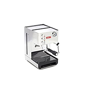 Lelit Anna PL41EM Macchina Espresso Semiprofessionale ideale per Caffè Espresso, Cappuccino e Cialde Carta - Carrozzeria in Acciaio Inox