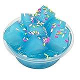BrawljRORty Toys, Coconut Fruit Crystal Mud Clay Slime Putty Plasticine Sludge Stress Relief Toys