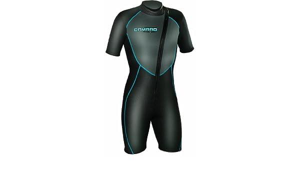 Amazon.com   Camaro Men s Mono Voltage 3 2mm Surf Shorty Suit 3853ac1b1