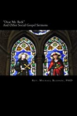 """Dear Mr. Beck"": And Other Social Gospel Sermons Paperback"