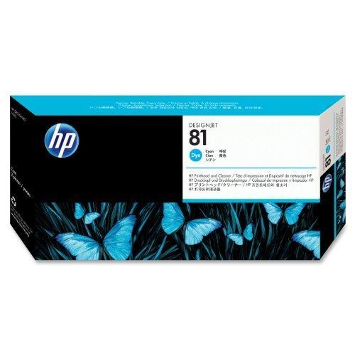 HEWC4951A - HP 81 Cyan Printhead/Cleaner