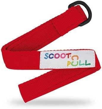 MICRO Scoot&Pull Accesorios de portabilidad Ciclismo Infantil, Juventud Unisex, Rojo, Talla Única
