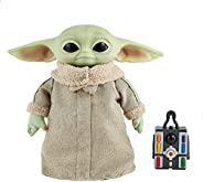 Star Wars Grogu, The Child, 12-in Plush Motion RC Toy from The Mandalorian, Collectible Stuffed Remote Control