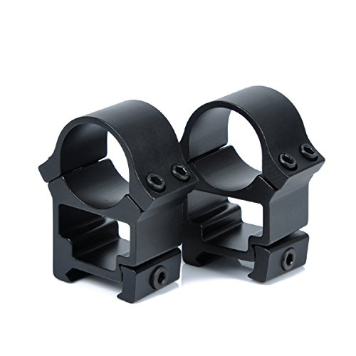 (WOLTIS 1 Inch High Profile Scope Rings - 1