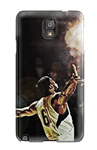 Brand New For SamSung Galaxy S3 Case Cover For (nba Basketball Lebron James Miami Heat )