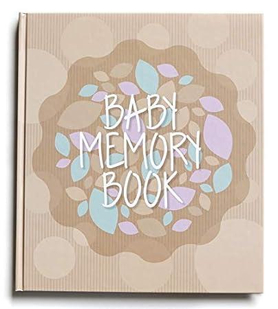 Baby Memory Book for First Year - Milestone Boy \u0026 Girl | Use as Amazon.com :