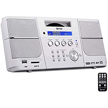Amazon Com Rca Rcd331wh Portable Cd Player With Am Fm