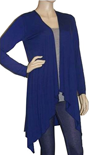 5060253692532 EAN - Lady Rich Long Sleeved Waterfall Cardigan(Size ...