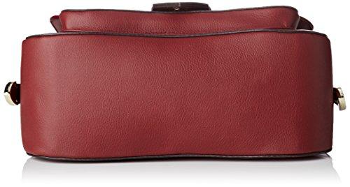 Guess Hwsisvp7390, Borsa a Mano Donna, 10x20x24.5 cm (W x H x L) Rosso (Bordeaux)