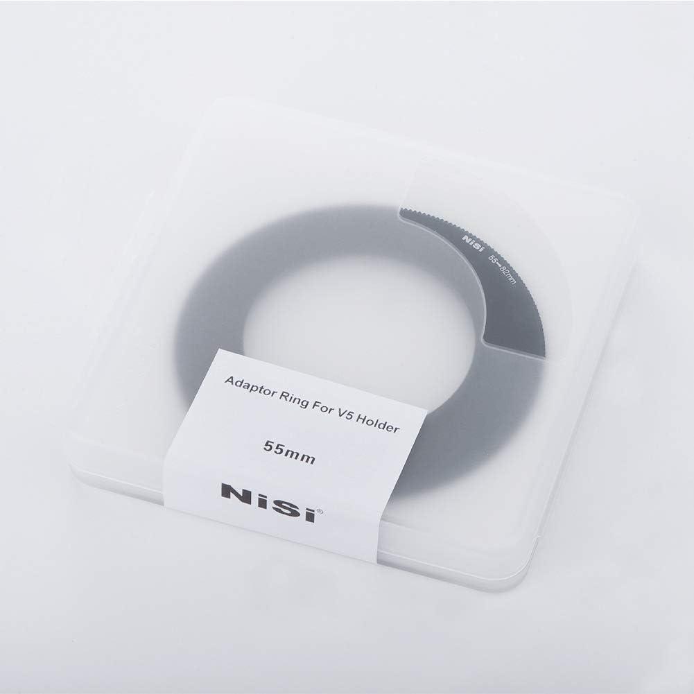 per sistemi a lastra 100mm V5 55-82mm NiSi Anello Adattatore 55mm V5 Pro e V3
