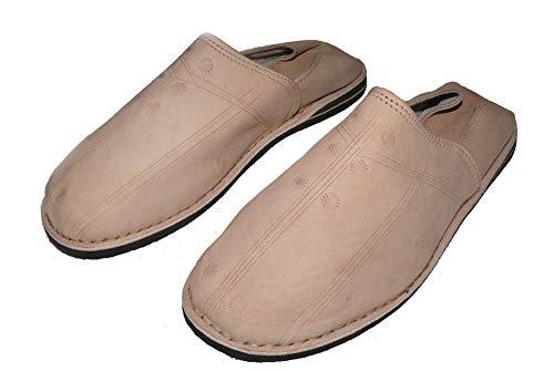 Zapatillas Oriental hombre Zapatillas De Zapatos Cuero wEqISI