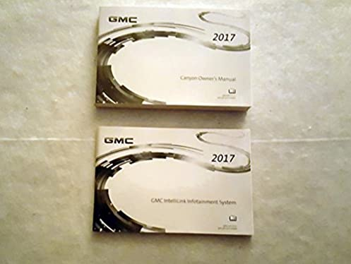 2017 gmc canyon owners manual gmc amazon com books rh amazon com gmc canyon owners manual 2008 gmc canyon owners manual 2016