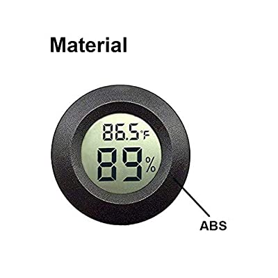 2PACK Digital Hygrometer LCD Indoor Thermometer Temperature Humidity Meter USA
