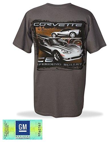 Men's C6 Corvette T-Shirt Speeding Bullet X-Large