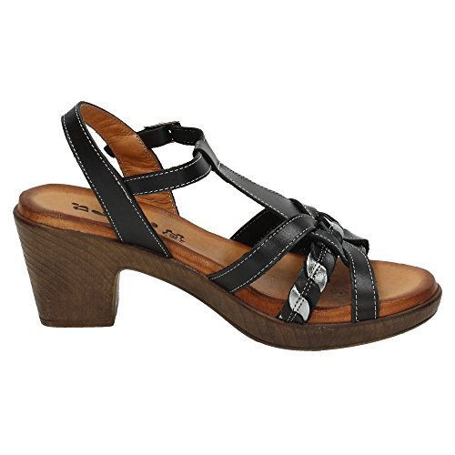 Dliro , sandales femme Noir