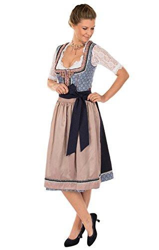 Donne Abito Blu Tirolese Blu Kruger Dirndl 1rAwEWxrqv