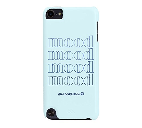 AwesomenessTV: Mood iPod Touch 5G Light Blue Barely There Phone (Case Mate Ipod Touch)