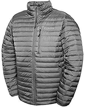 Columbia Men's Oak Apex Omni-Heat Down Jacket, GREY