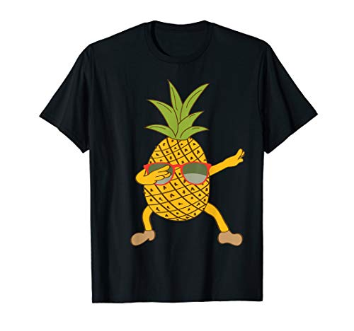 Pineapple Dab Pose Shirt]()