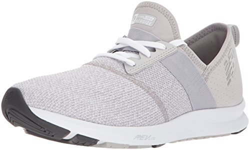 New Balance Women's FuelCore Nergize v1 FuelCore Training Shoe, Light Grey, 7.5 D US (Best Light Walking Shoes)