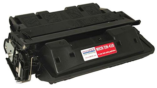 MicroMICR MICRTJN410 MICR Toner Cartridge for HP LaserJet 4100 Series, Black ()