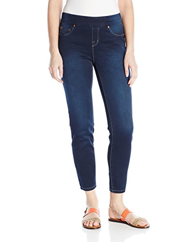 Tribal Women's Dream Pull-On Skinny Ankle Jean, Navy Blast, ()