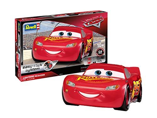 Revell 07819, Disney Pixar Cars, Lightning McQueen 1:24 Scale Easy - Lightning Mcqueen Kit