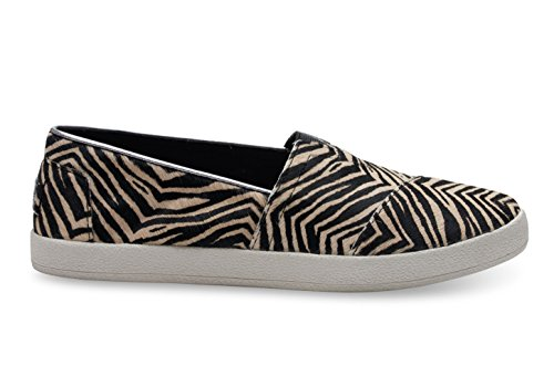 Used, TOMS Women's Zebra Printed Calf Hair Avalon 10006320 for sale  Delivered anywhere in USA