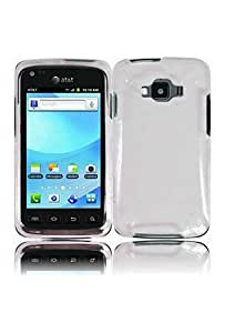 HHI Samsung SGH-i847 Rugby Smart Crystal Clear Hard Case - Clear (Package include a HandHelditems Sketch Stylus Pen)
