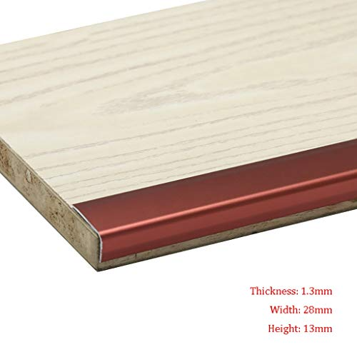 GWXFHT Threshold Strip L Type Wooden Floor Blanking strip Non-slip Right angle Decorative lines Pressure edge Strip…
