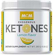 MCM Nutrition – Exogenous Ketones Supplement & BHB - Boosts Energy - Ketone Drink for Ketosis - Instant Ke