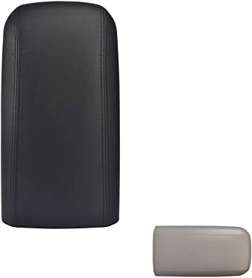 2002-2004 Oldsmobile Bravada OEM 25998838 Black Center Console Lid Armrest Cover with Latch /& Screws Fit for 2002-2009 Chevy Trailblazer GMC Envoy