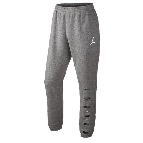 Jordan Air Jordan Graphic Tapered Sweatpants (L, Grey/Black)