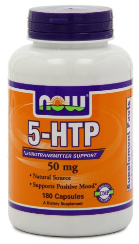 Now Foods 5-htp 50mg, 180 Capsules
