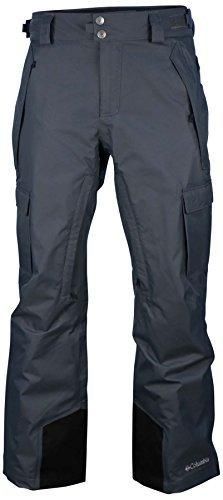 Columbia Snowboarding Pants - Columbia Men's SLOPE STYLE Ski Snowboard OMNI HEAT Pants (M, GREY)