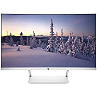 HP 27 Curved HP27SC1 LCD  WLED Monitor - Silver
