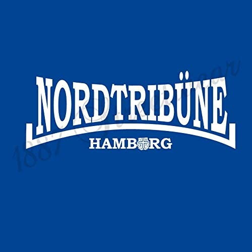 1887   Streetwear Hamburg T-Shirt Nordtrib/üne Royalblau//Weiss