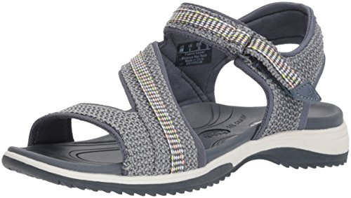 Dr. Scholl's Shoes Women's Daydream Slide Sandal, Light wash Blue mesh, 10 M US