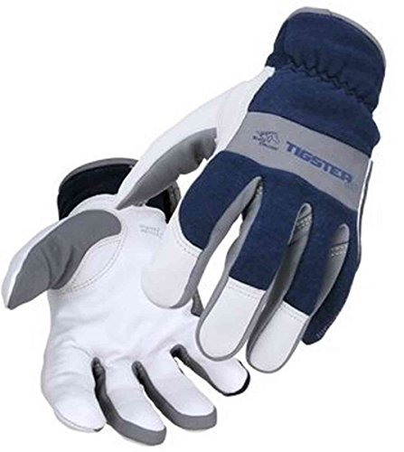 TIGster Premium Flame Resistant Snug Fit Kidskin TIG Welding Gloves-XL