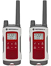 Motorola Solutions T482 Emergency Preparedness White W/Red Rechargeable Two Pack