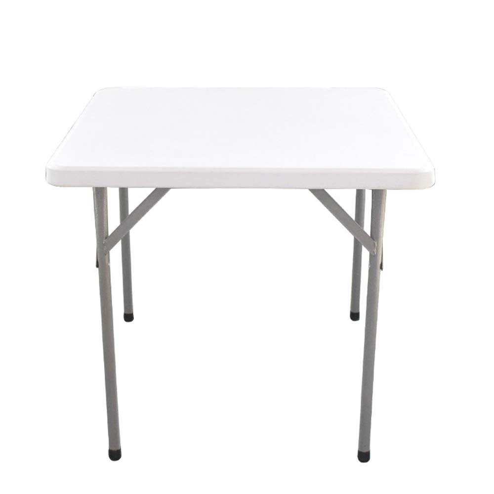 Cxmm Resin Outdoor Folding Table, Portable Stable Non-Slip Impact-Resistant Capacity Large Rectangle Simple Modern Picnic Table Backyard