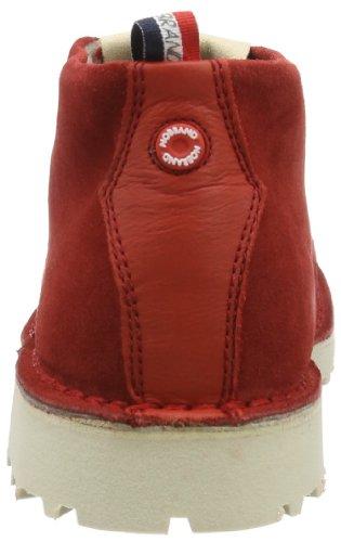NOBRAND Seville 7897 - Zapatos de ante para hombre Rojo