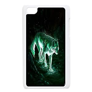 [H-DIY CASE] FOR IPod Touch 4th -Wolf,Wolves and Moon Pattern-CASE-12